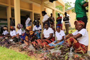 Les agricultrices partenaires du projet